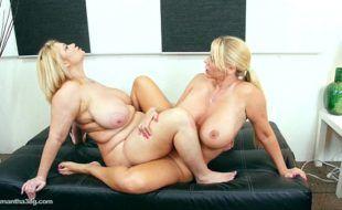 Pornozão beeg lésbicas duas peitudonas colando velcro